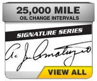 Amsoil synthetic signature series 25 thousand mile oils