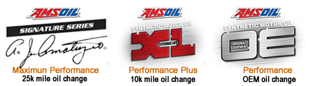 3 levels of performance oils