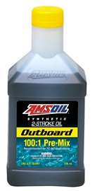 Amsoil snowmobile and outboard 2 cycle oil