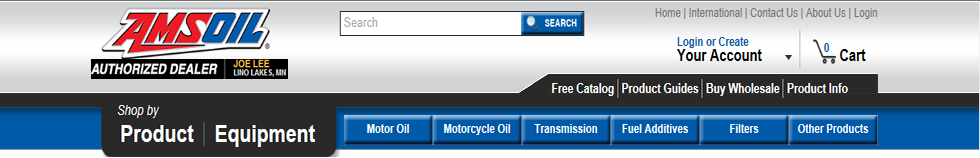 Amsoil online ordering starts here - click anywhere to start