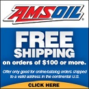 Amsoil free shipping over $100 ordered