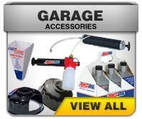 Amsoil garage accessories - pumps, funnels, filter wrenches, oil analysis pump
