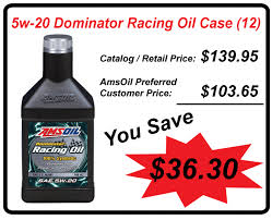 Save approx 20-25% off retail by being an Amsoil preferred customer